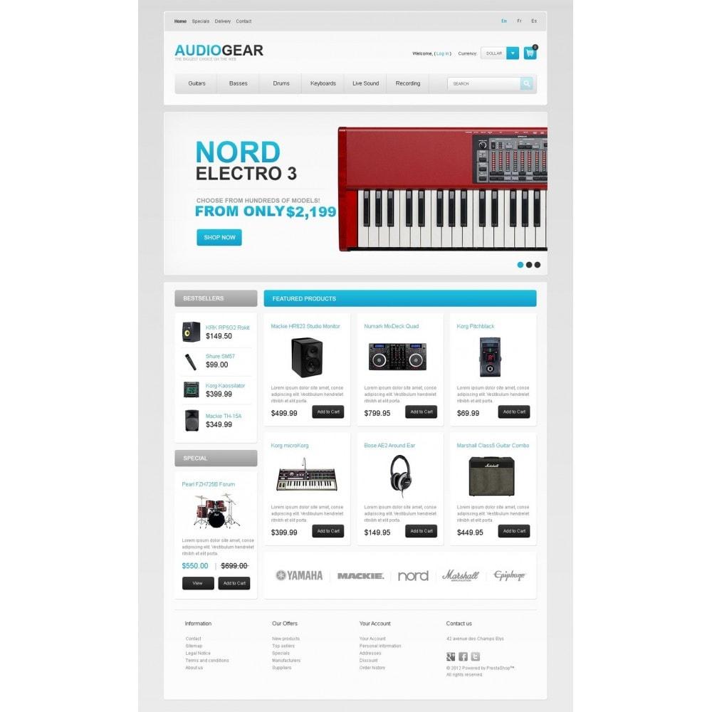 theme - Elektronica & High Tech - Audio Store - 5