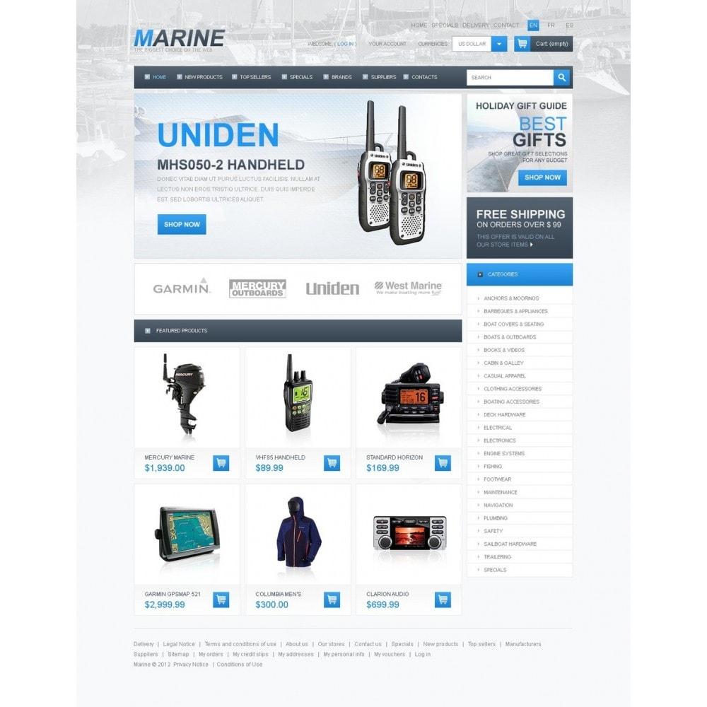 theme - Sport, Activiteiten & Reizen - Marine Store - 5