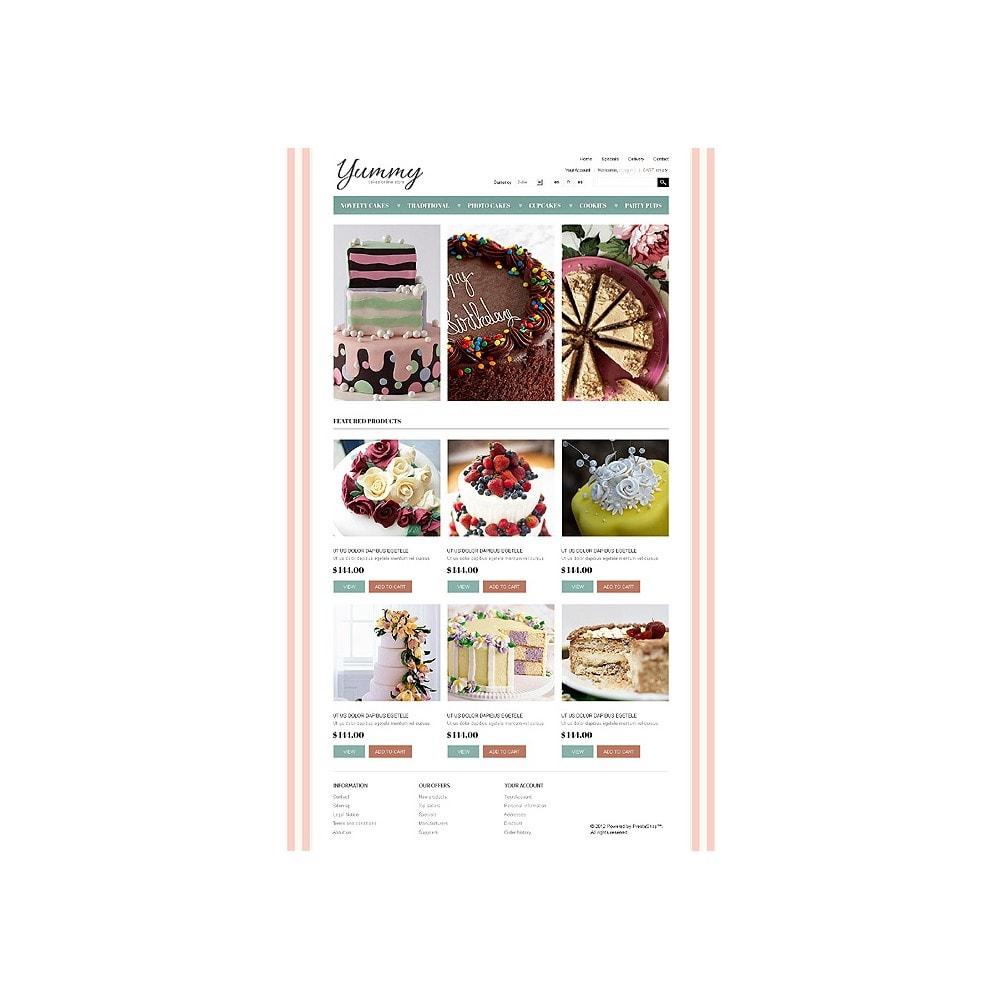 theme - Gastronomía y Restauración - Yummy Cakes - 1
