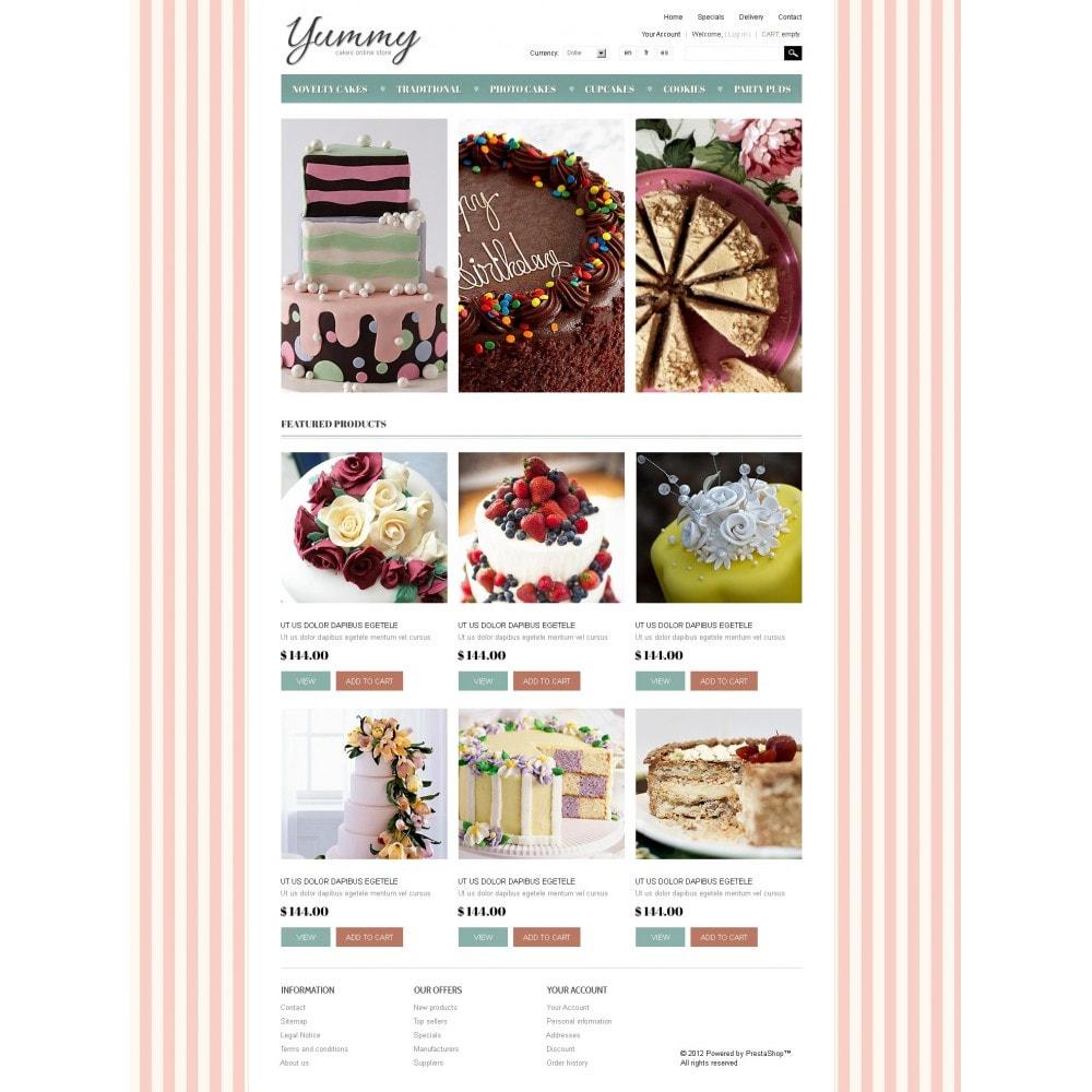 theme - Gastronomía y Restauración - Yummy Cakes - 3