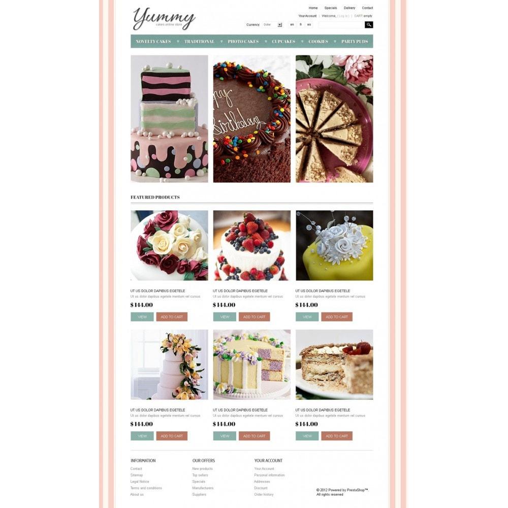 theme - Gastronomía y Restauración - Yummy Cakes - 5