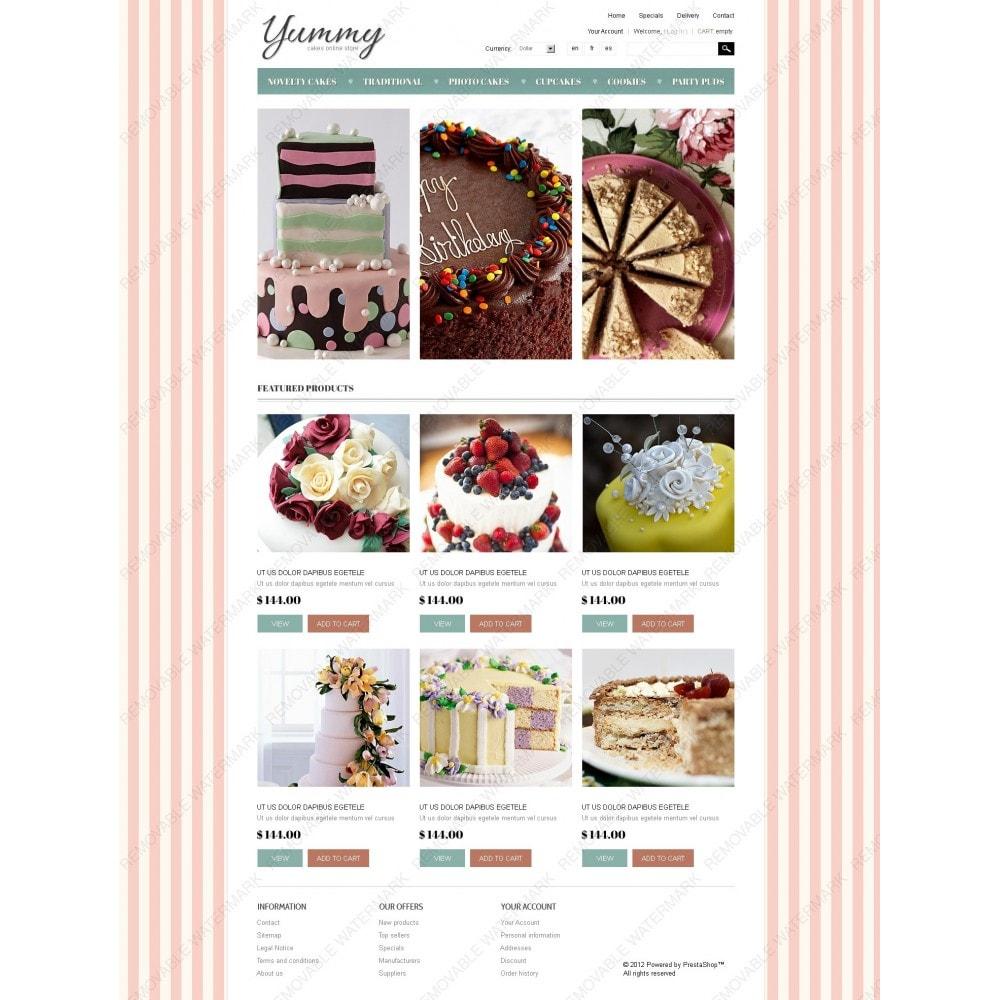 theme - Продовольствие и рестораны - Yummy Cakes - 7