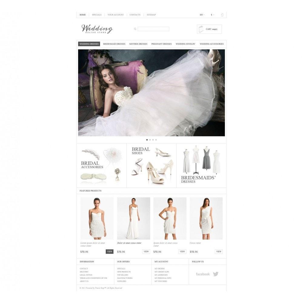 theme - Moda & Calçados - Responsive Wedding Store - 4