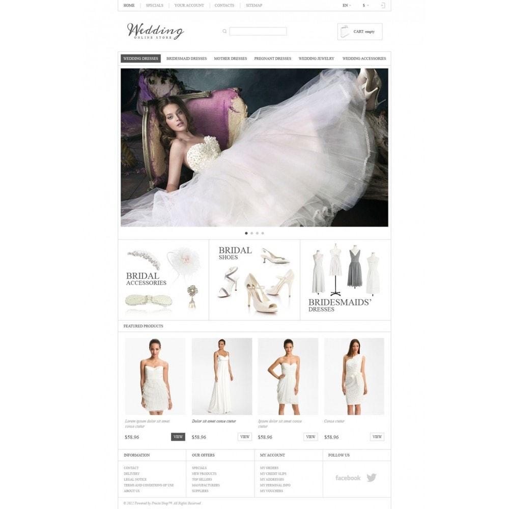 theme - Moda & Calçados - Responsive Wedding Store - 5