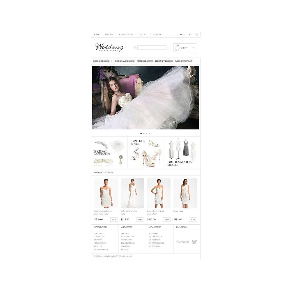theme - Moda & Calçados - Responsive Wedding Store - 8