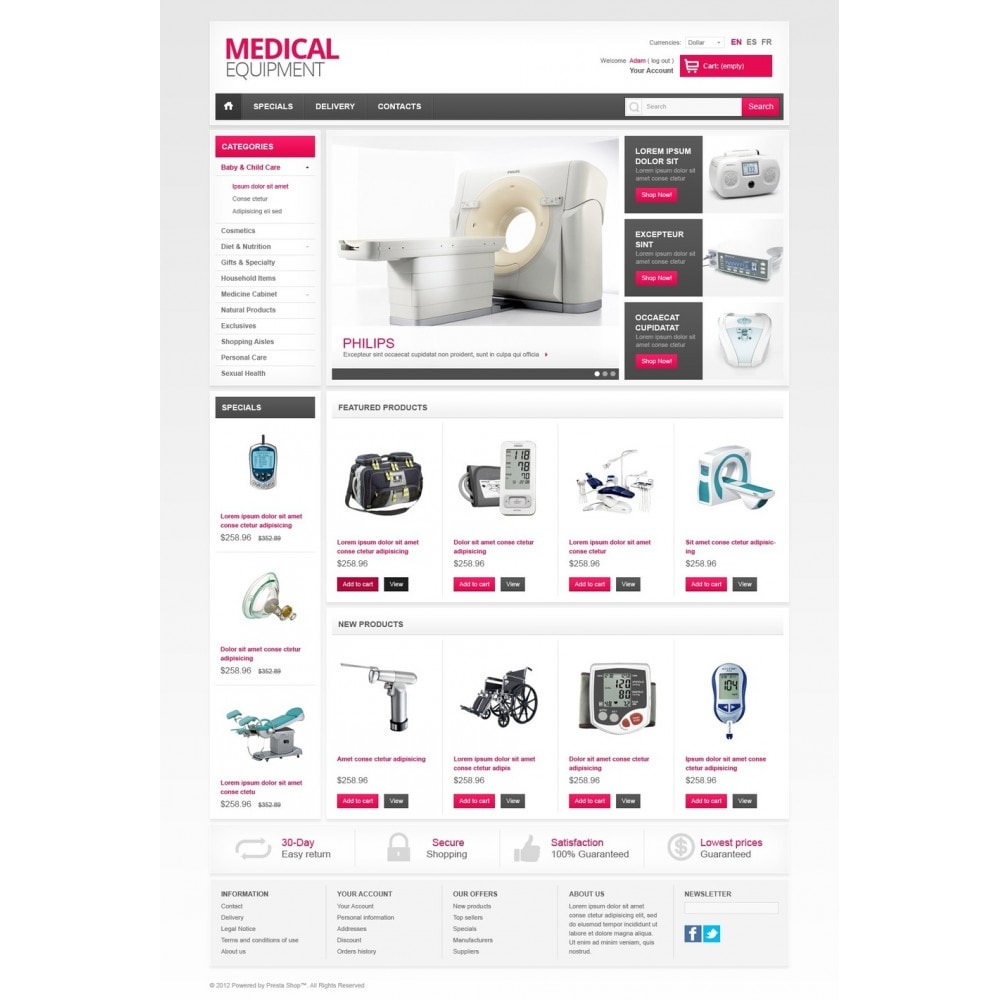 theme - Salute & Bellezza - Medical Equipment - 5