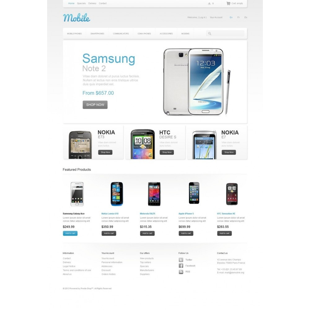theme - Электроника и компьютеры - Mobile Phones - 5