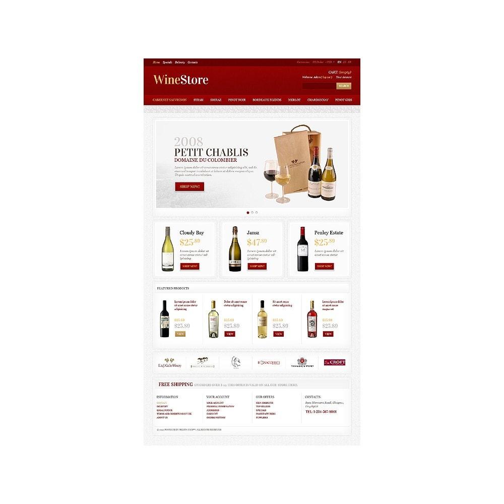 theme - Gastronomía y Restauración - Wine Store - 1