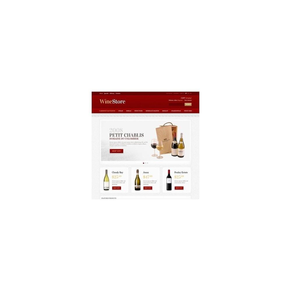 theme - Gastronomía y Restauración - Wine Store - 4