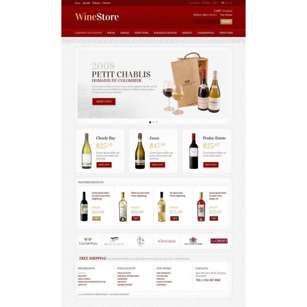 theme - Gastronomía y Restauración - Wine Store - 5