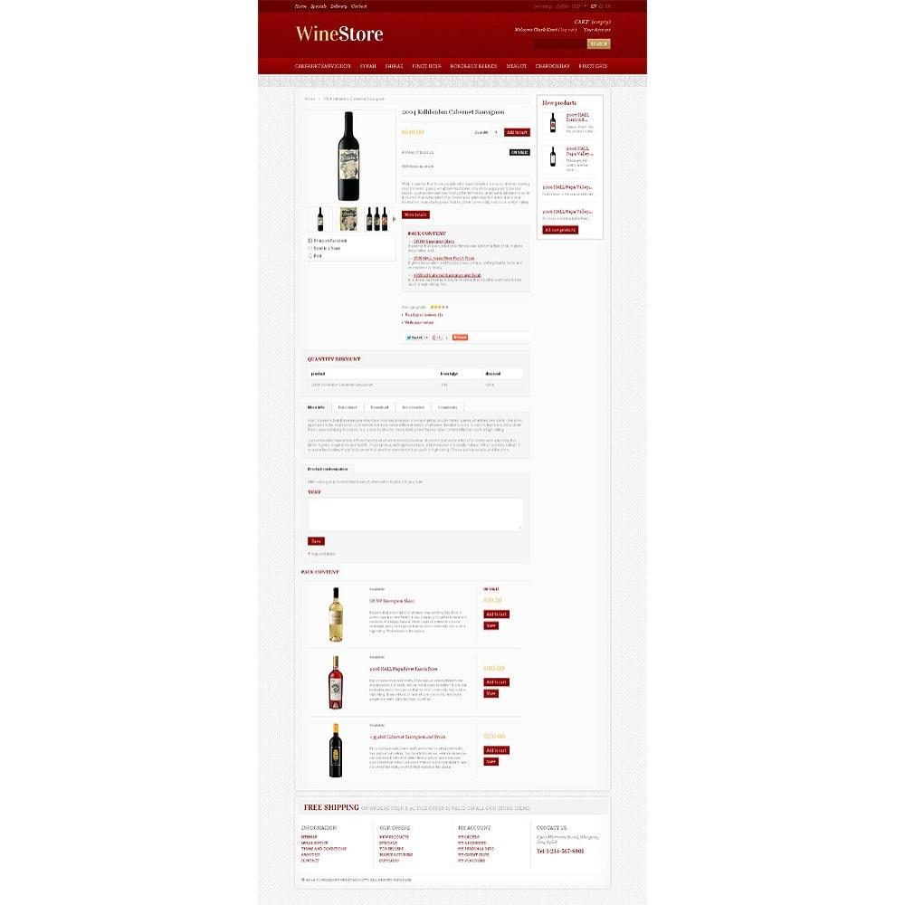 theme - Gastronomía y Restauración - Wine Store - 6