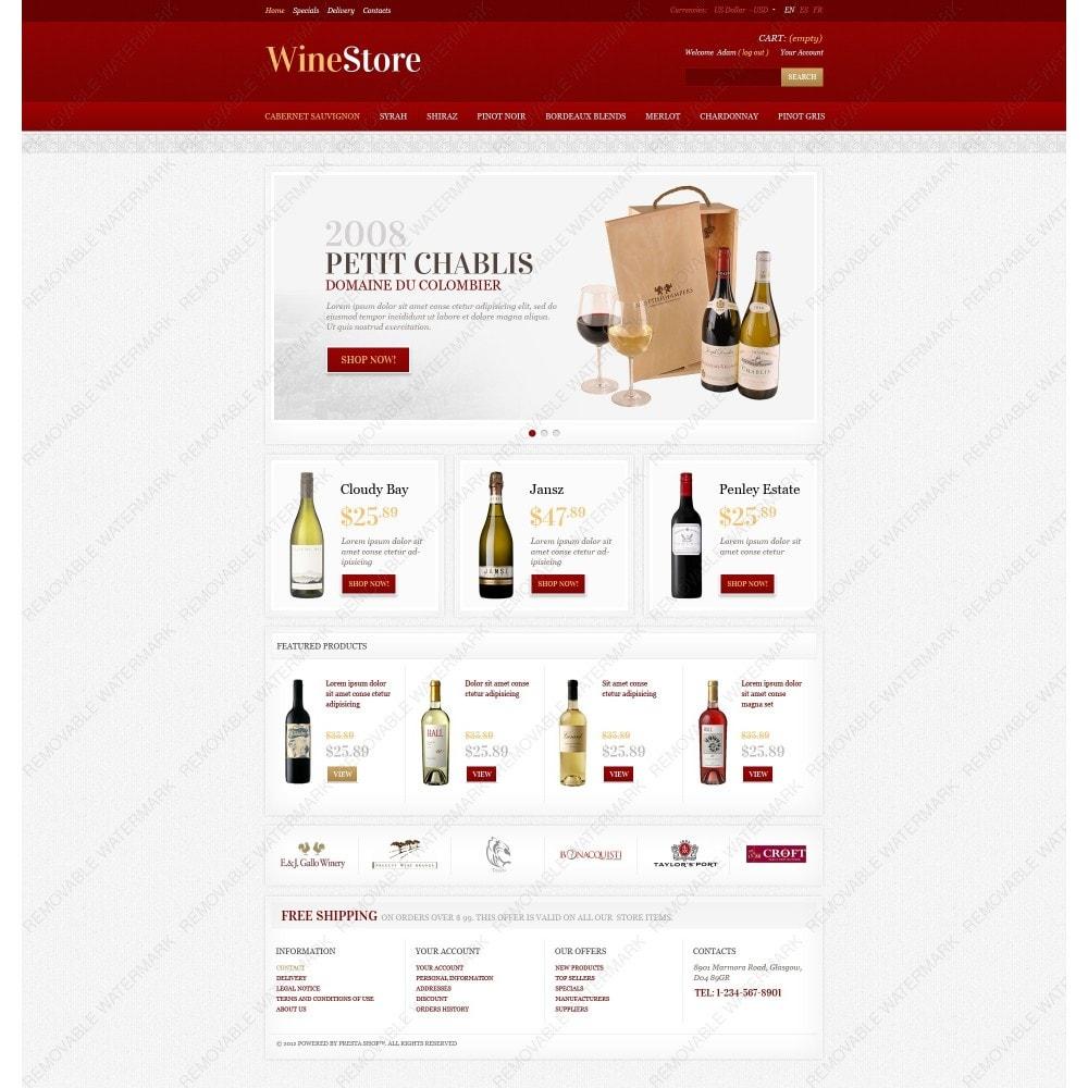 theme - Gastronomía y Restauración - Wine Store - 7