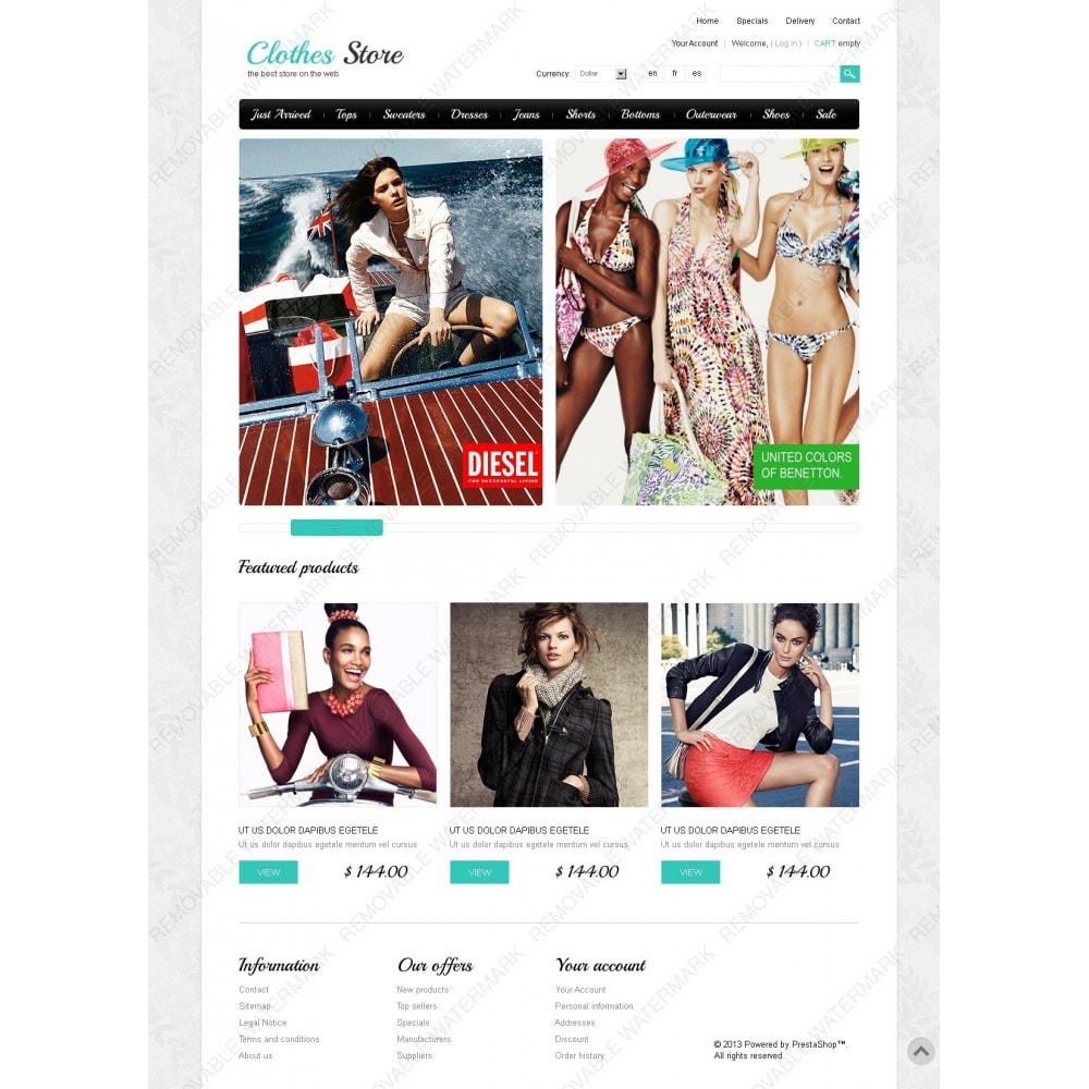 theme - Mode & Chaussures - Clothes Store - 2