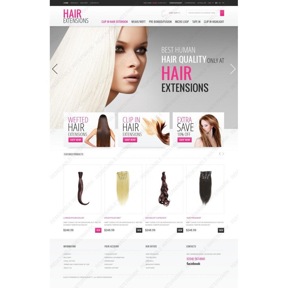 theme - Moda & Obuwie - Luxury Hair - 2