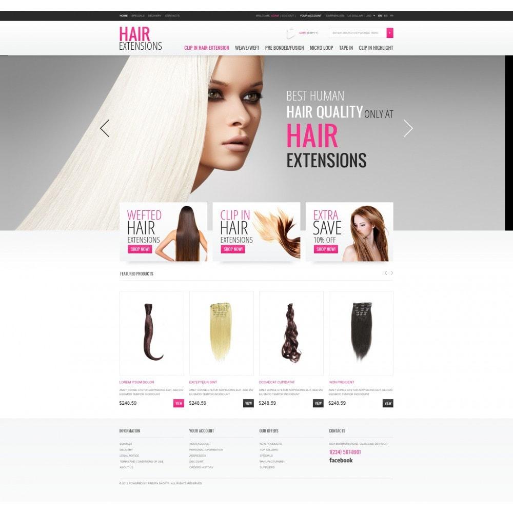 theme - Moda & Obuwie - Luxury Hair - 3