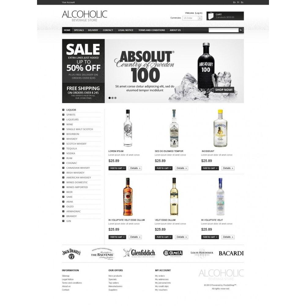 theme - Alimentation & Restauration - Alcoholic Beverages - 5