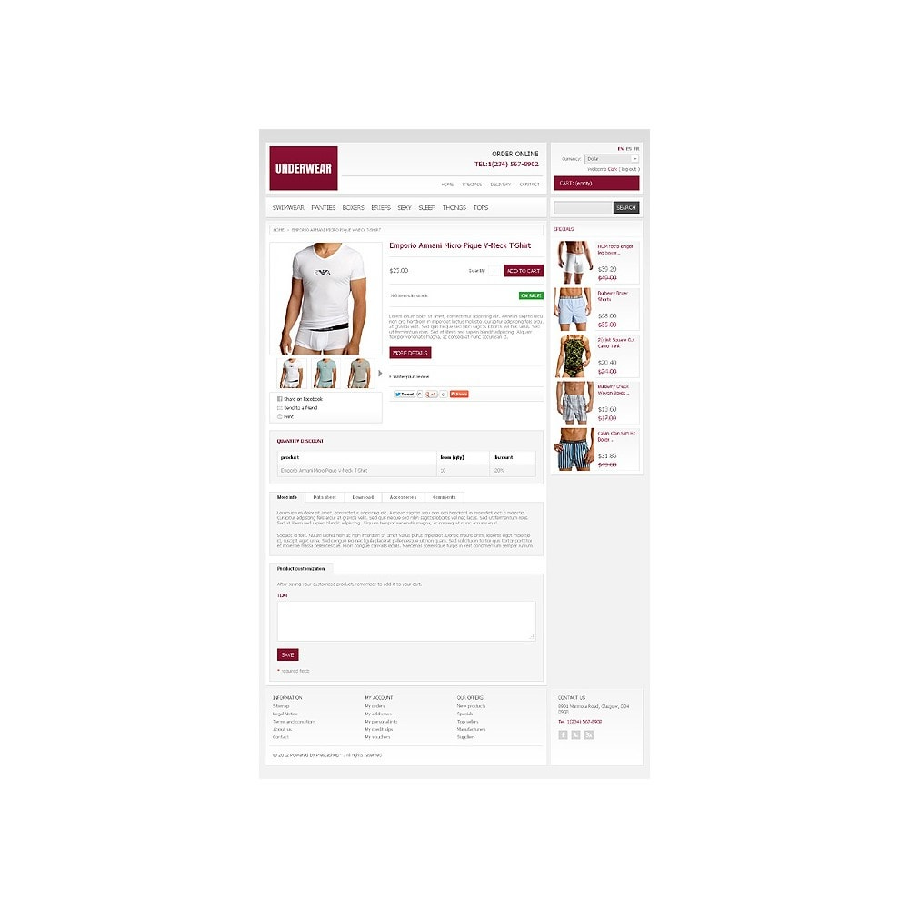 theme - Moda & Calzature - Underwear Store - 6