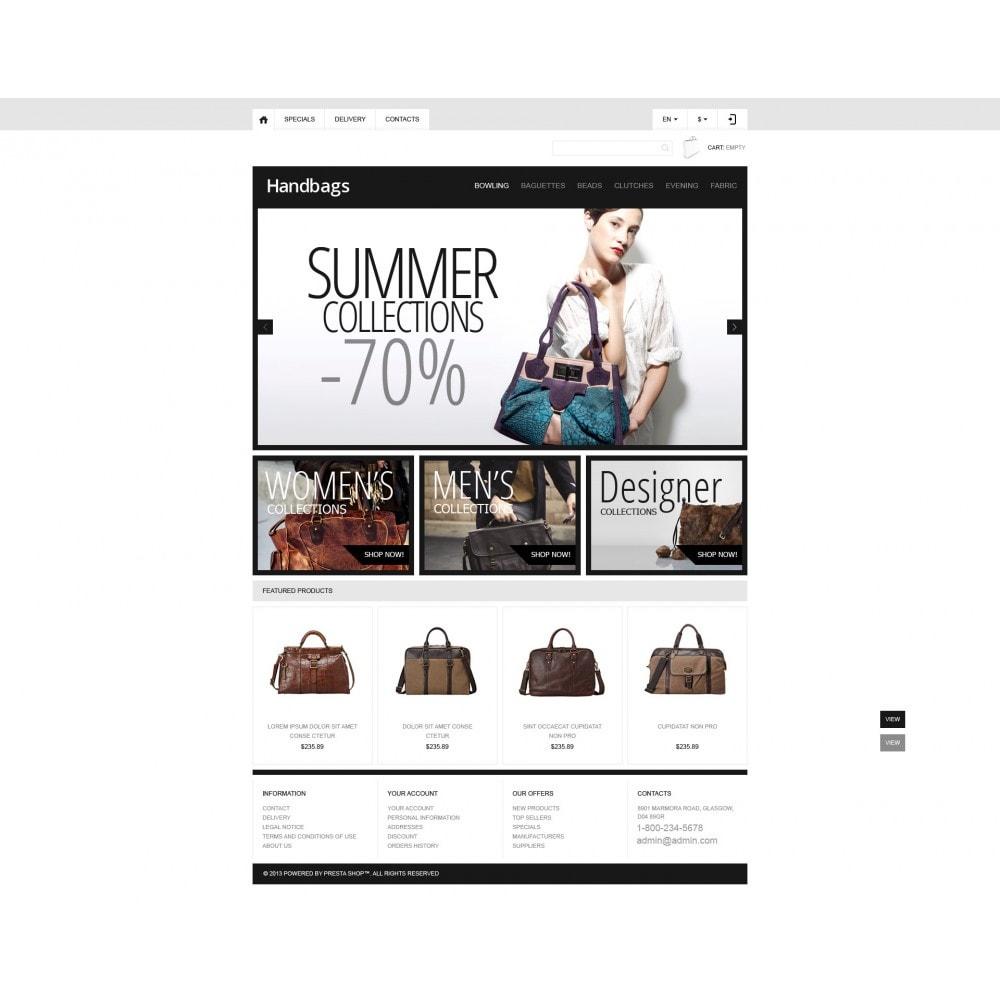 theme - Moda & Calçados - Responsive Handbags Boutique - 4
