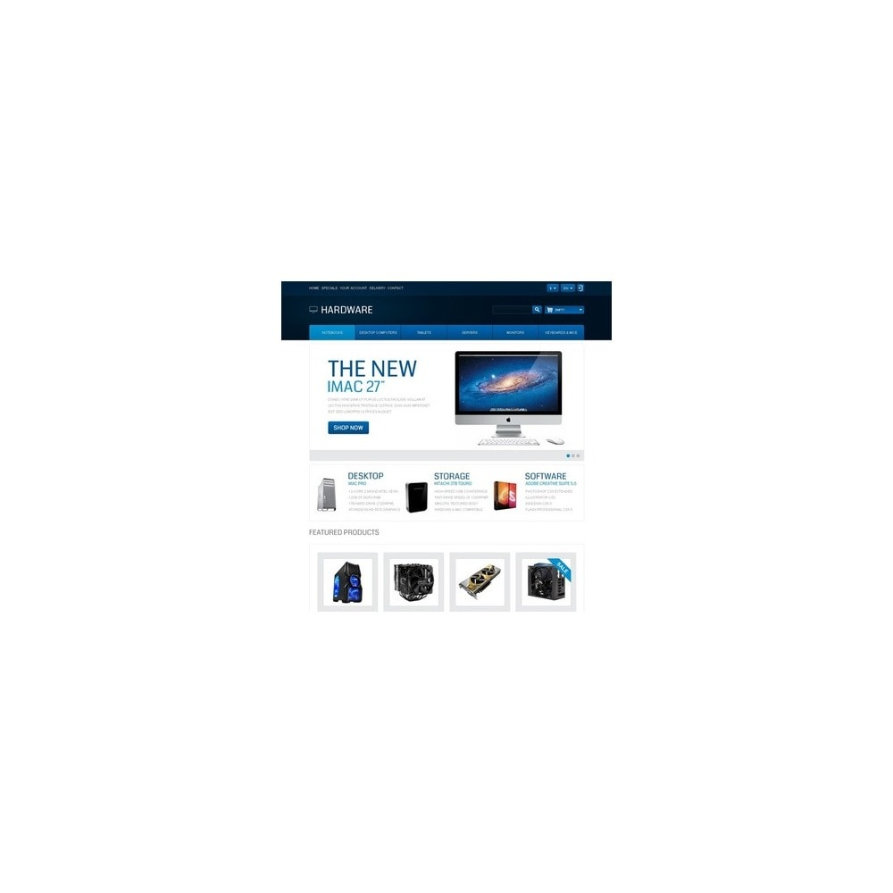 theme - Elektronica & High Tech - Responsive Hardware Store - 2