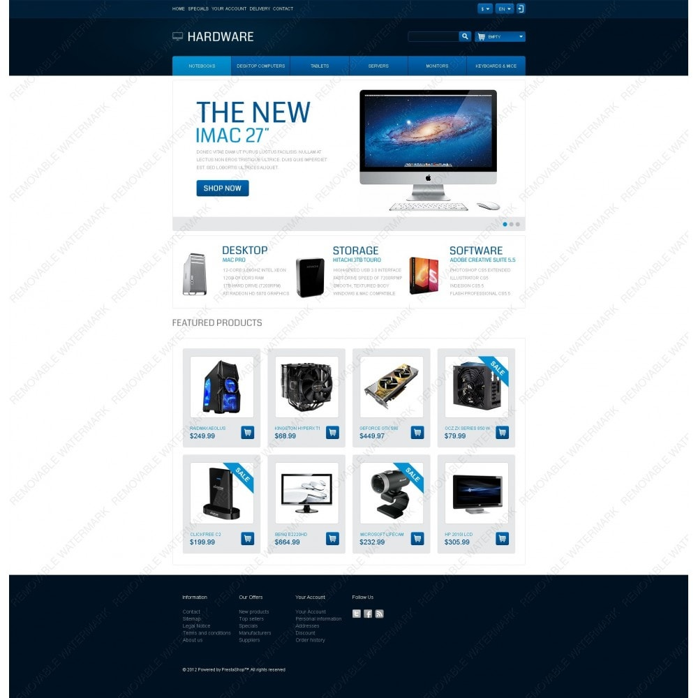 theme - Elektronica & High Tech - Responsive Hardware Store - 6