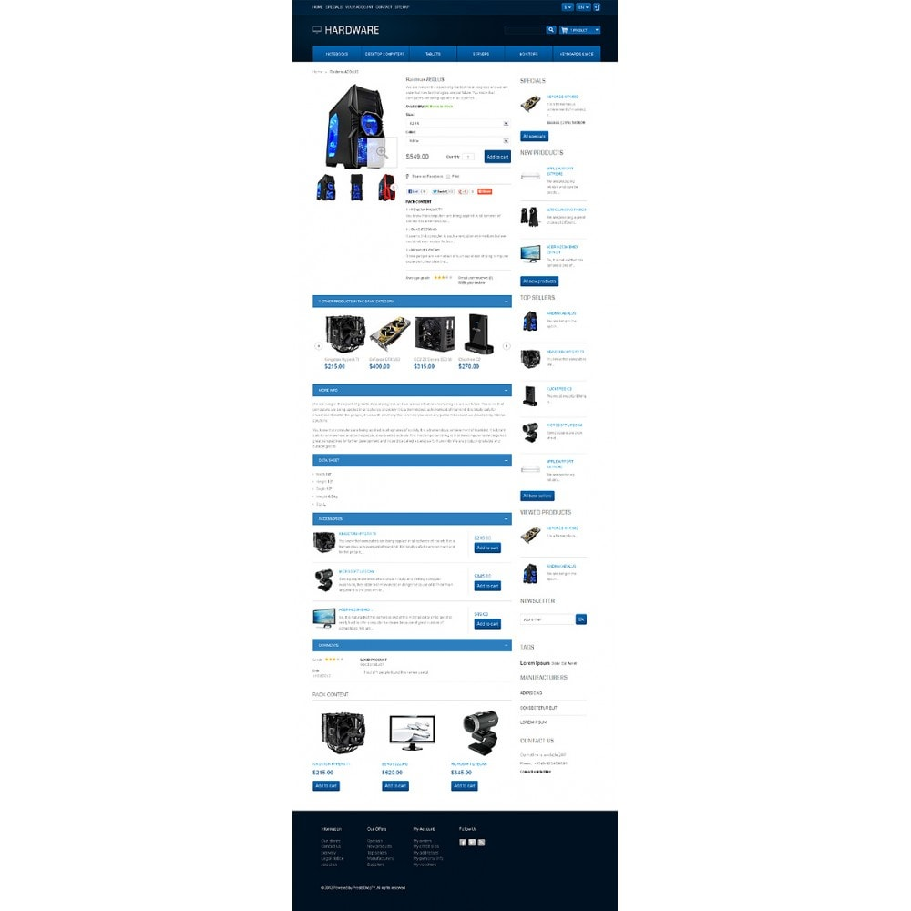 theme - Elektronica & High Tech - Responsive Hardware Store - 7