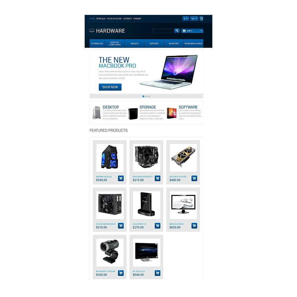 theme - Electronics & Computers - Responsive Hardware Store - 8