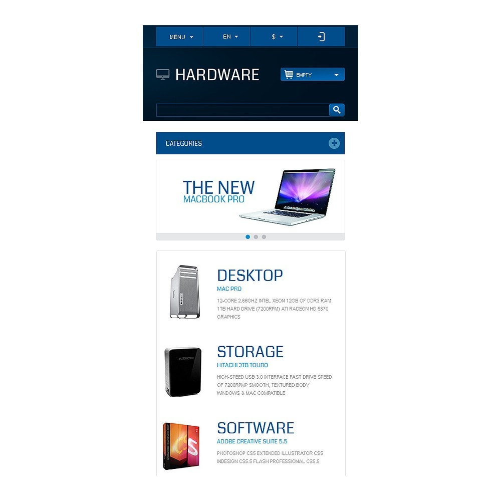 theme - Electronics & Computers - Responsive Hardware Store - 9