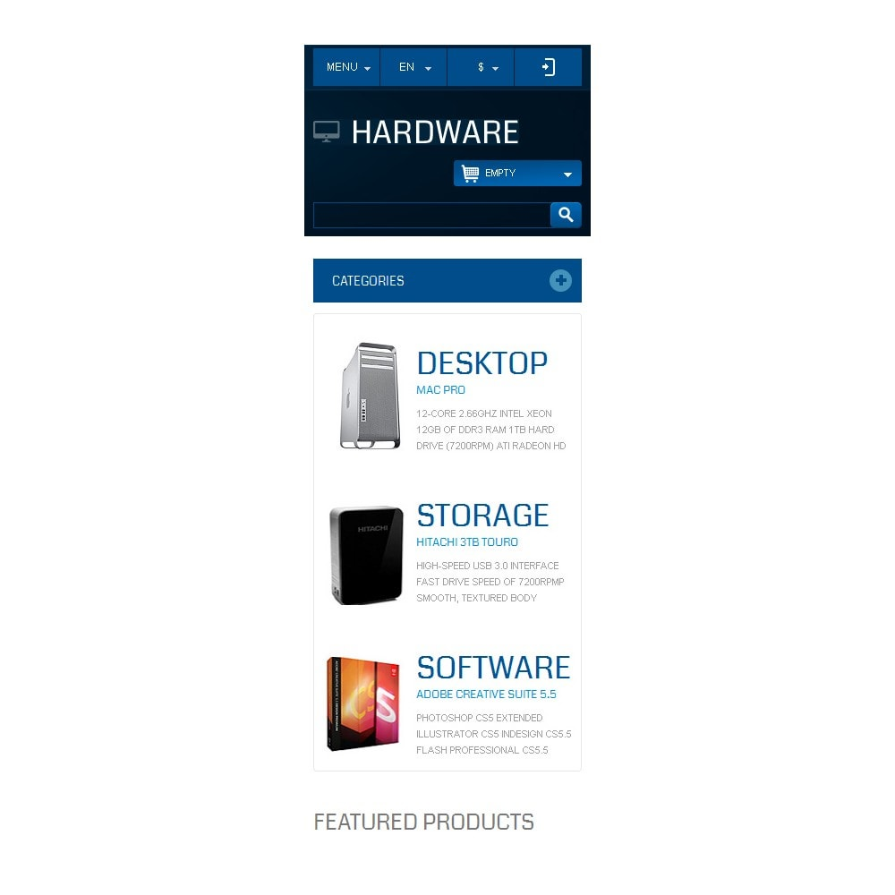 theme - Electronics & Computers - Responsive Hardware Store - 10