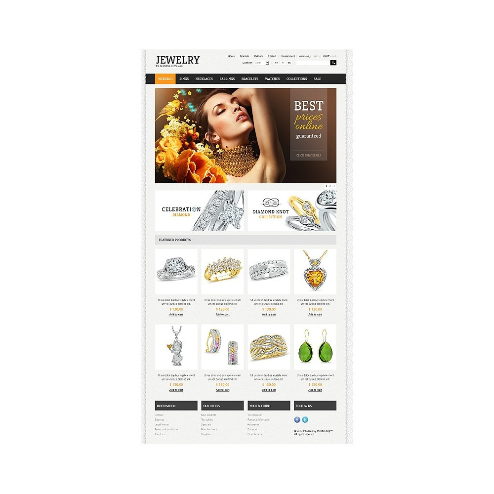 theme - Mode & Chaussures - Jewelry Theme - 1