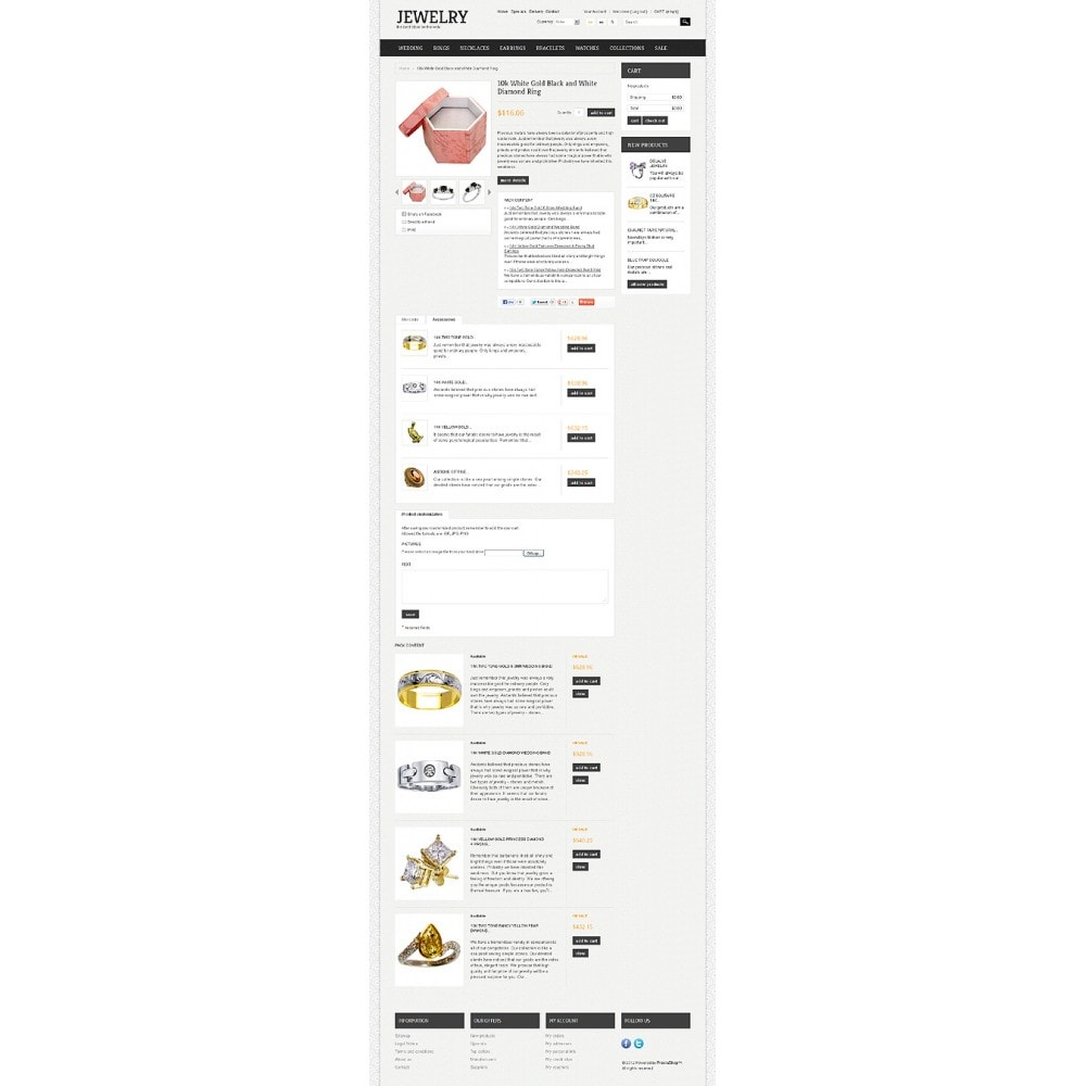 theme - Mode & Chaussures - Jewelry Theme - 6