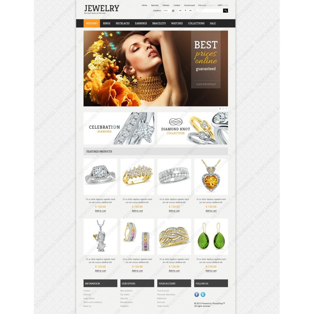 theme - Mode & Chaussures - Jewelry Theme - 7