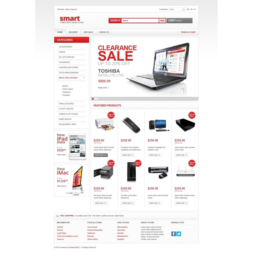 theme - Электроника и компьютеры - Smart Computer Store - 5