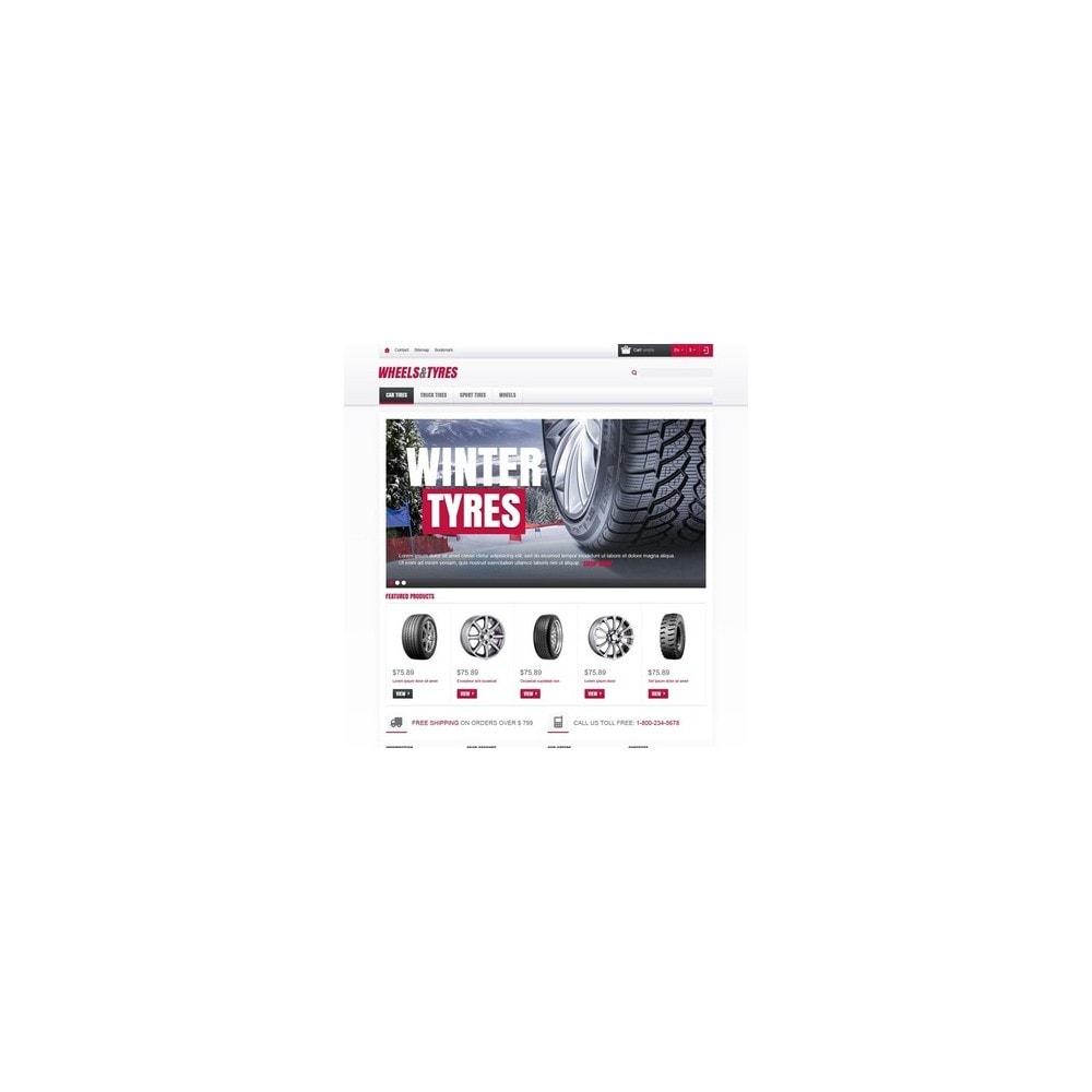 theme - Auto & Moto - Wheels & Tyres Store - 2