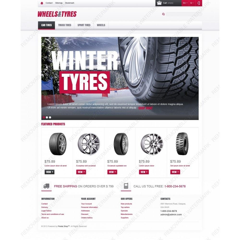 theme - Auto & Moto - Wheels & Tyres Store - 3