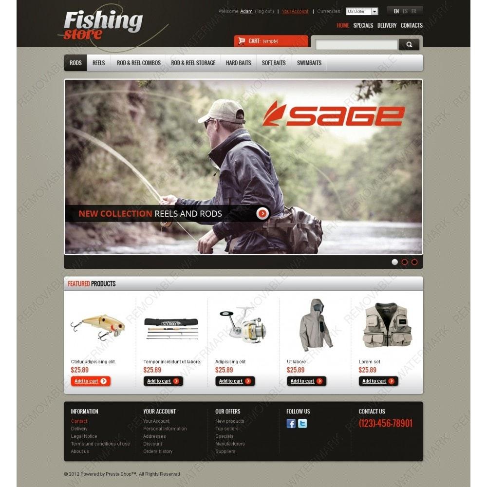 theme - Sports, Activities & Travel - Fishing Store - 2