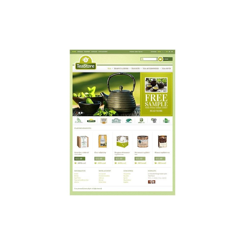theme - Eten & Restaurant - Tea Store - 1