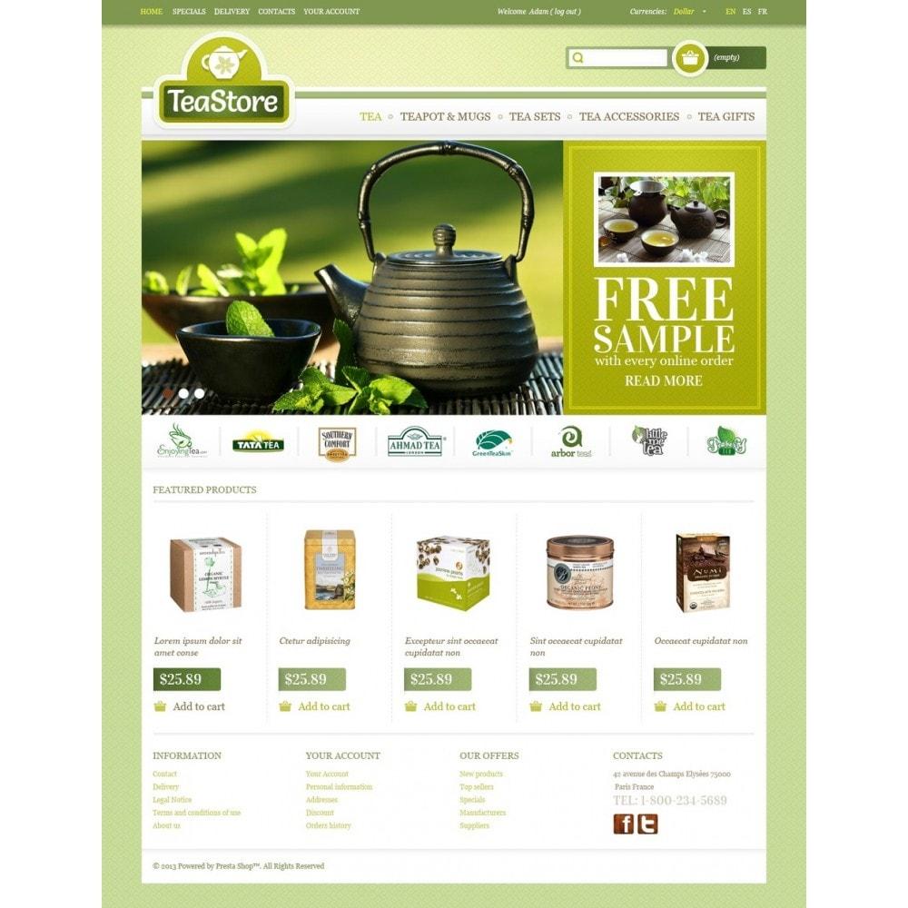 theme - Eten & Restaurant - Tea Store - 5