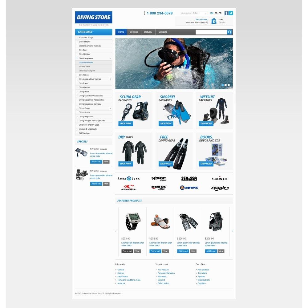 theme - Sport, Attività & Viaggi - Diving Store - 3