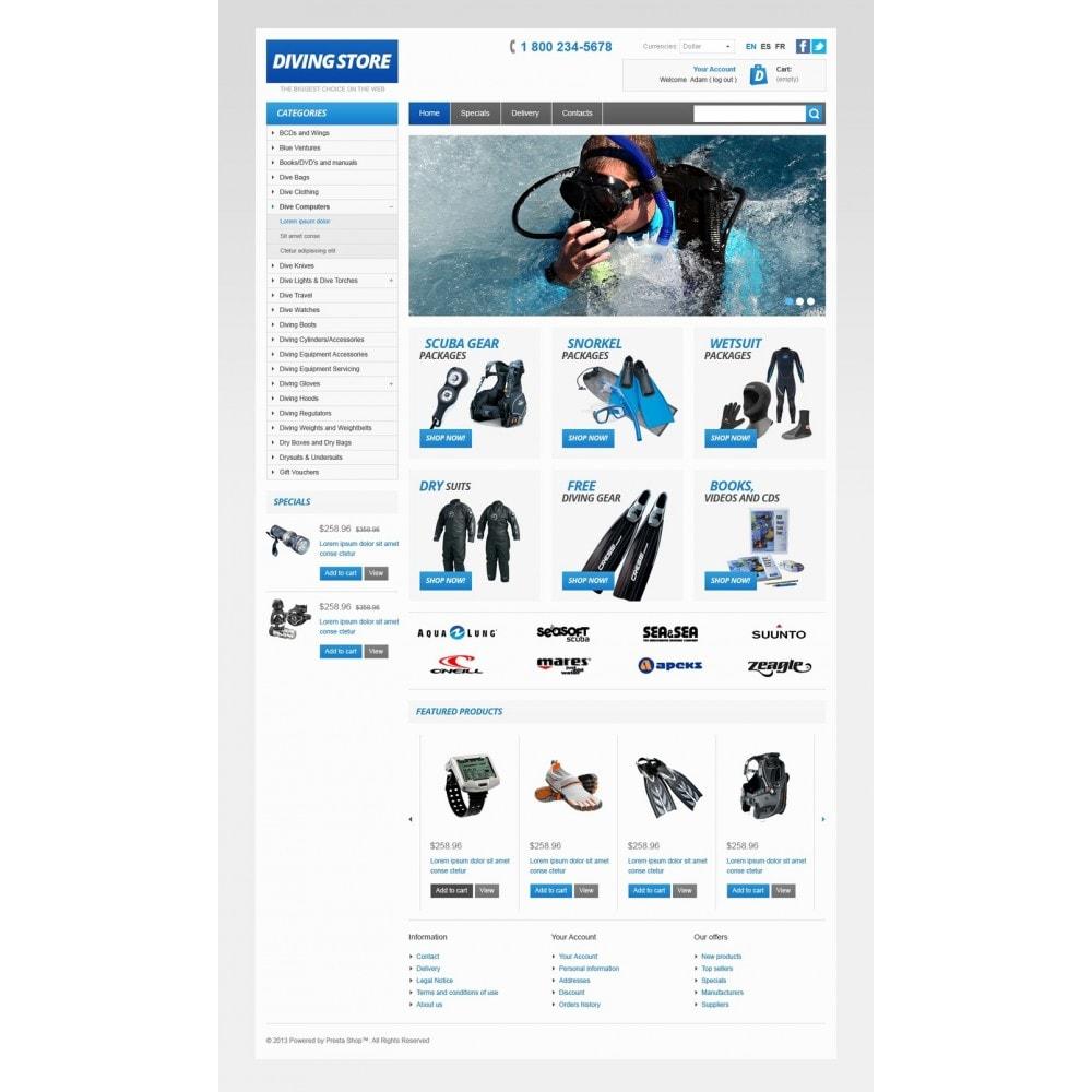 theme - Sport, Attività & Viaggi - Diving Store - 5