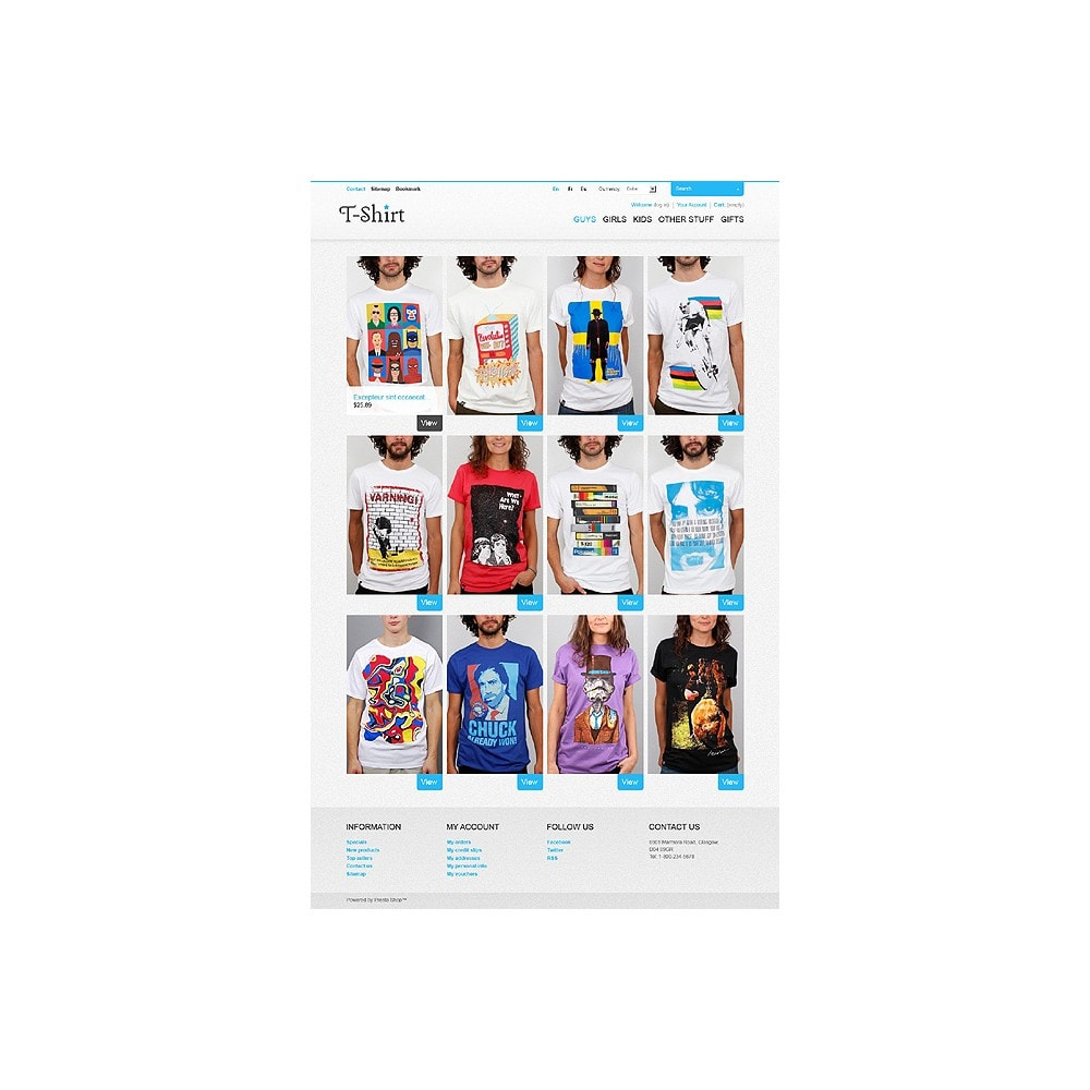 theme - Mode & Chaussures - T-Shirt Store - 1