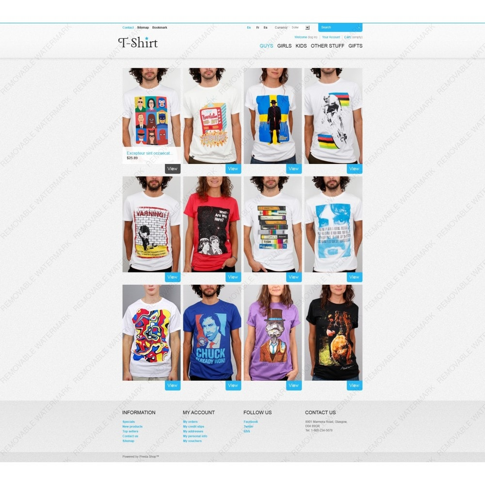 theme - Mode & Chaussures - T-Shirt Store - 7
