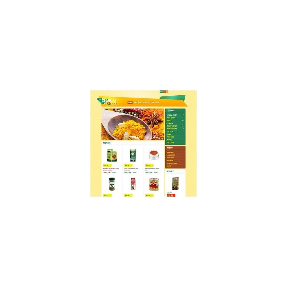theme - Eten & Restaurant - Responsive Spice Store - 2
