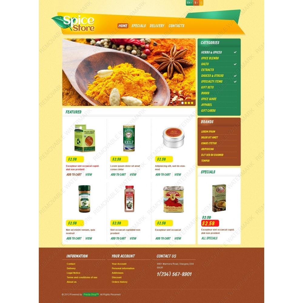 theme - Eten & Restaurant - Responsive Spice Store - 3