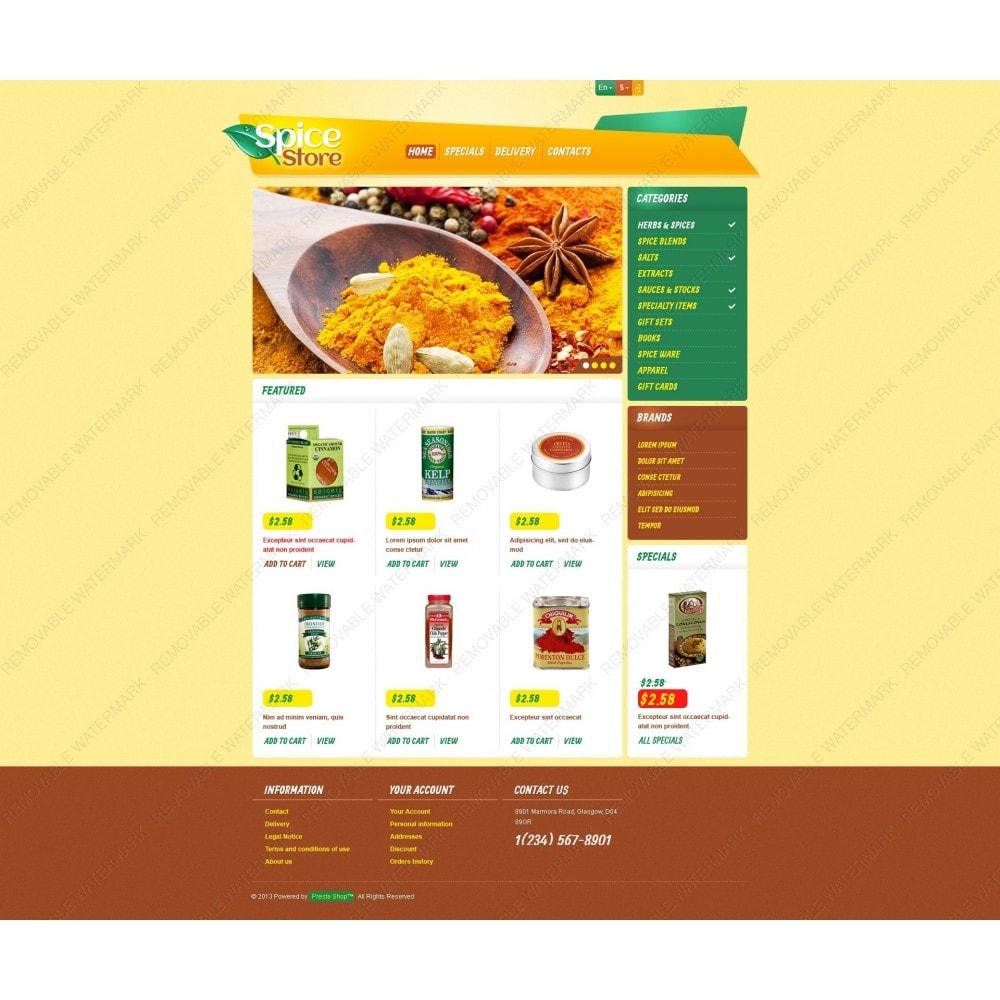 theme - Eten & Restaurant - Responsive Spice Store - 6