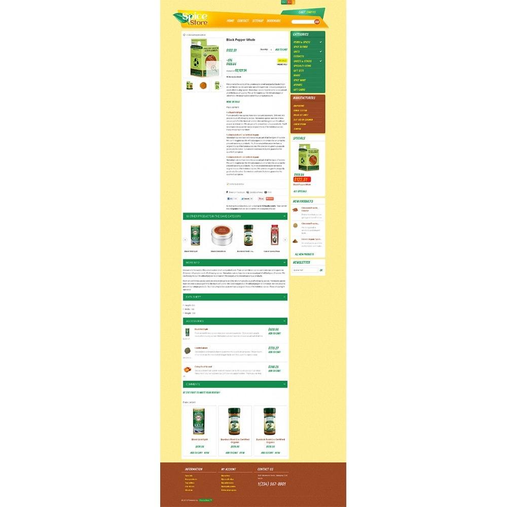 theme - Eten & Restaurant - Responsive Spice Store - 7