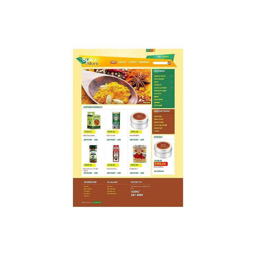 theme - Eten & Restaurant - Responsive Spice Store - 8
