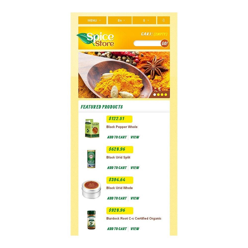 theme - Eten & Restaurant - Responsive Spice Store - 9