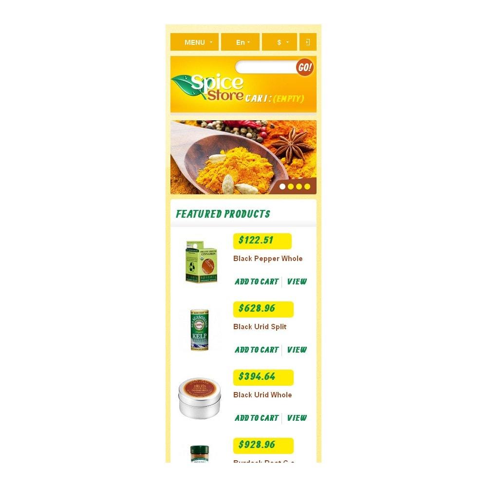 theme - Eten & Restaurant - Responsive Spice Store - 10