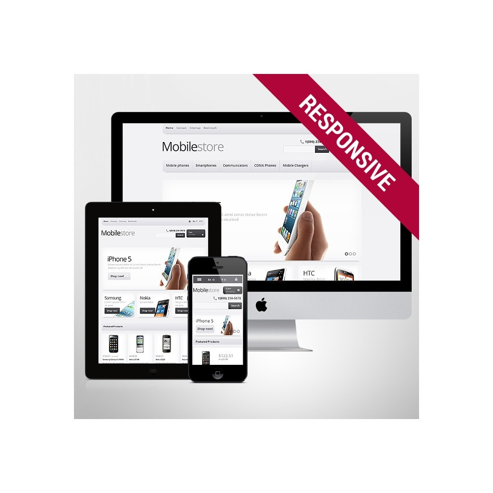 theme - Eletrônicos & High Tech - Responsive Mobile Store - 1
