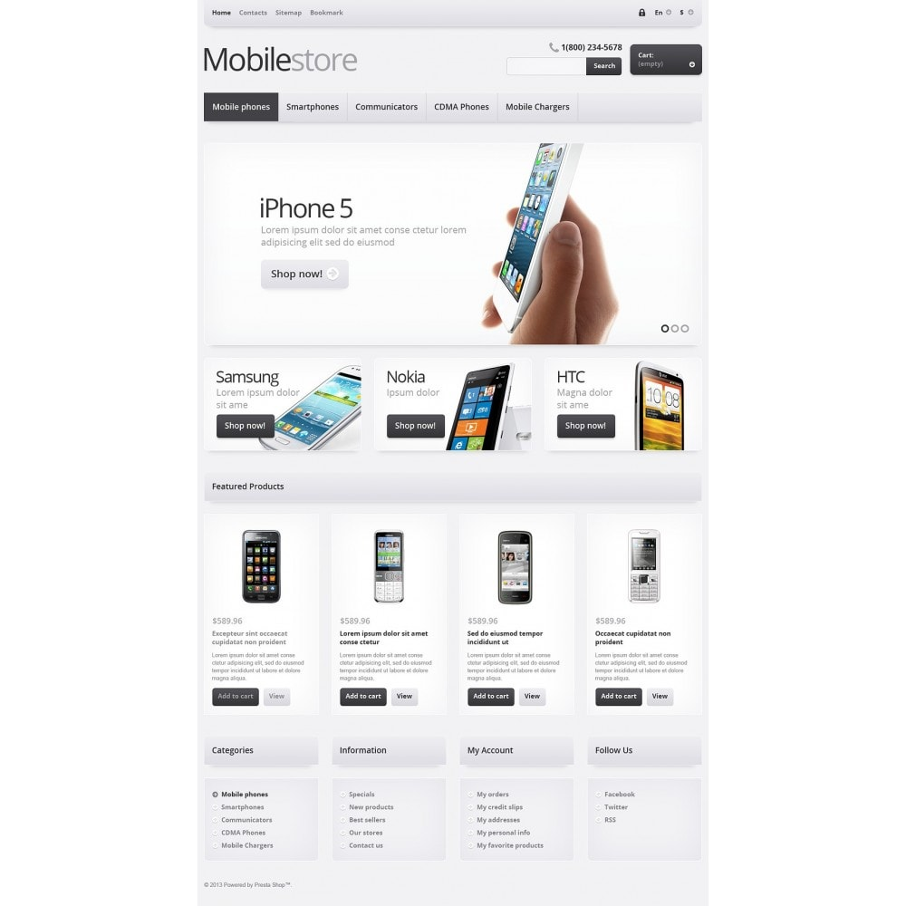 theme - Eletrônicos & High Tech - Responsive Mobile Store - 2